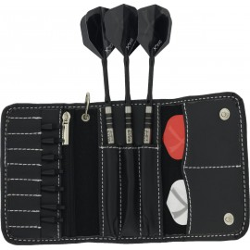 Portafreccette in pelle – Black – Softdart