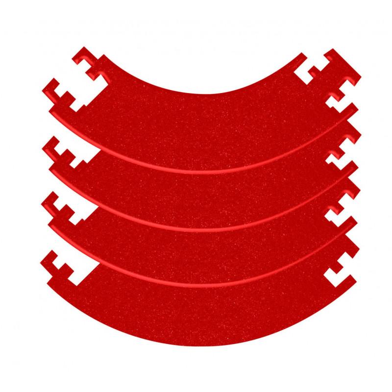 Anello di protezione per bersagli freccette componibile – Rosso