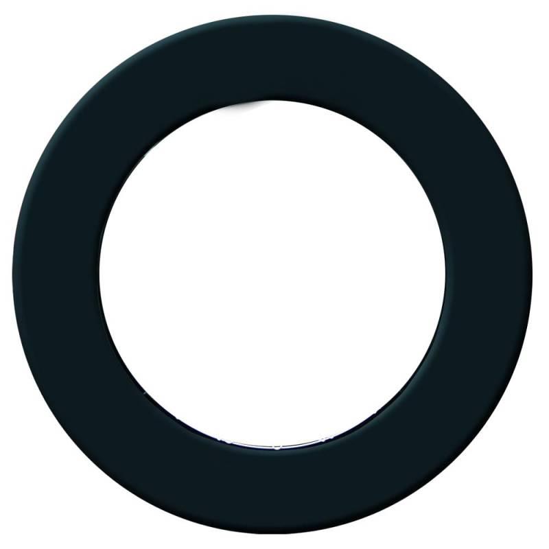 Anello di protezione per bersagli freccette Pro – Nero