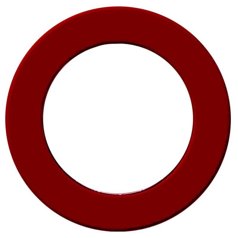 Anello di protezione per bersagli freccette Pro – Rosso