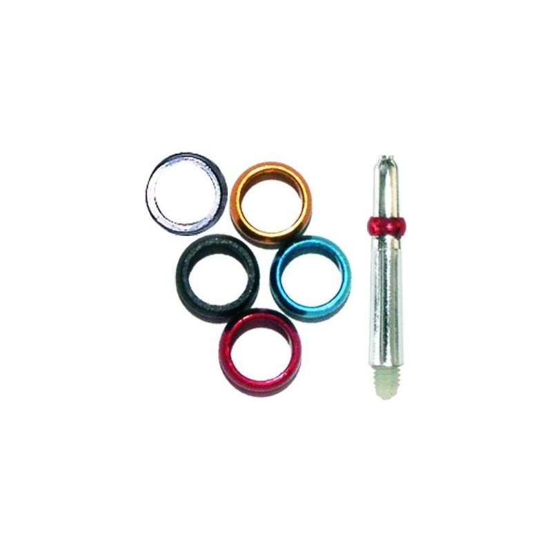 Rings stops flights for shafts in alumno - Various Colors