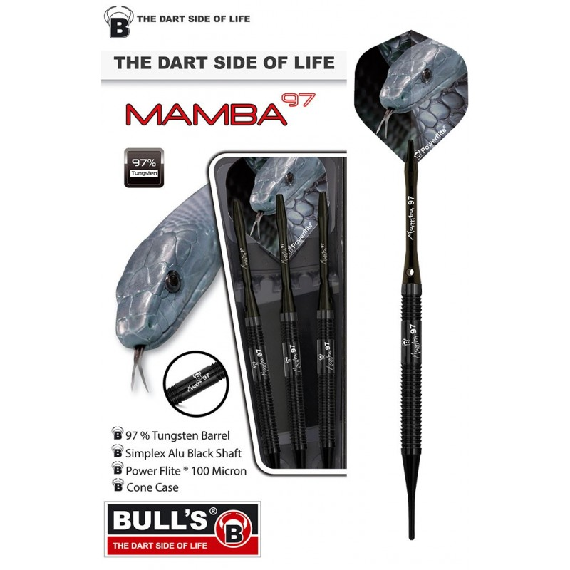Mamba 97 - M1 - Slim-Shark Grip 20g