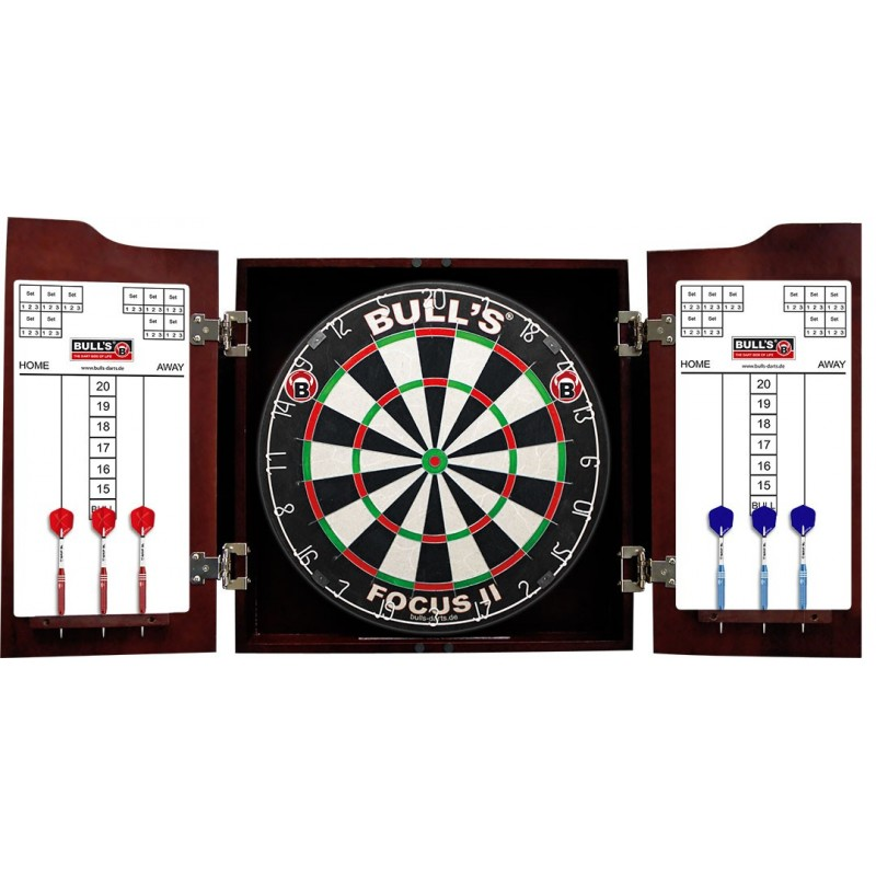 Wooden cabinet for board Darts