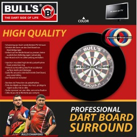 Pro – Blue darts boards protection ring