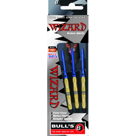Wizard – Blue – Knurled-Ringed Grip 16g