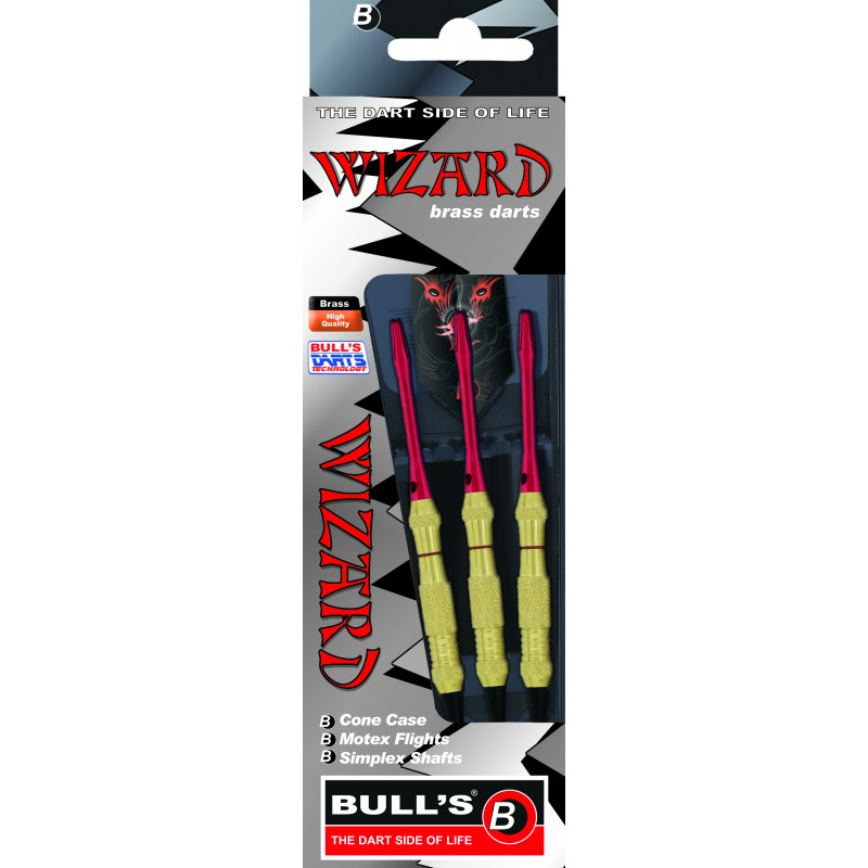 Wizard – Red – Knurled-Ringed Grip 18g