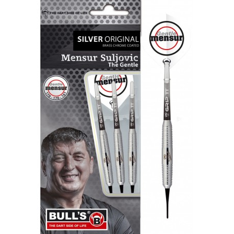 Team Player - Mensur Suljovic Silver Soft Dart 18 Gr.