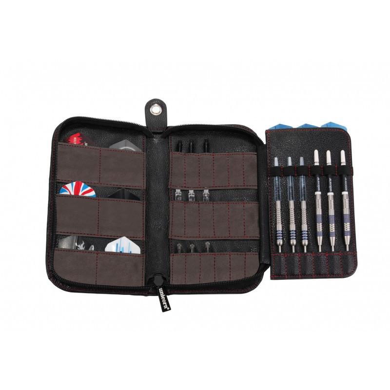 Case Maxi Plus Trifold black leather