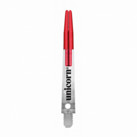 Shaft Short Red-Transparent Gripper Zero Degrees