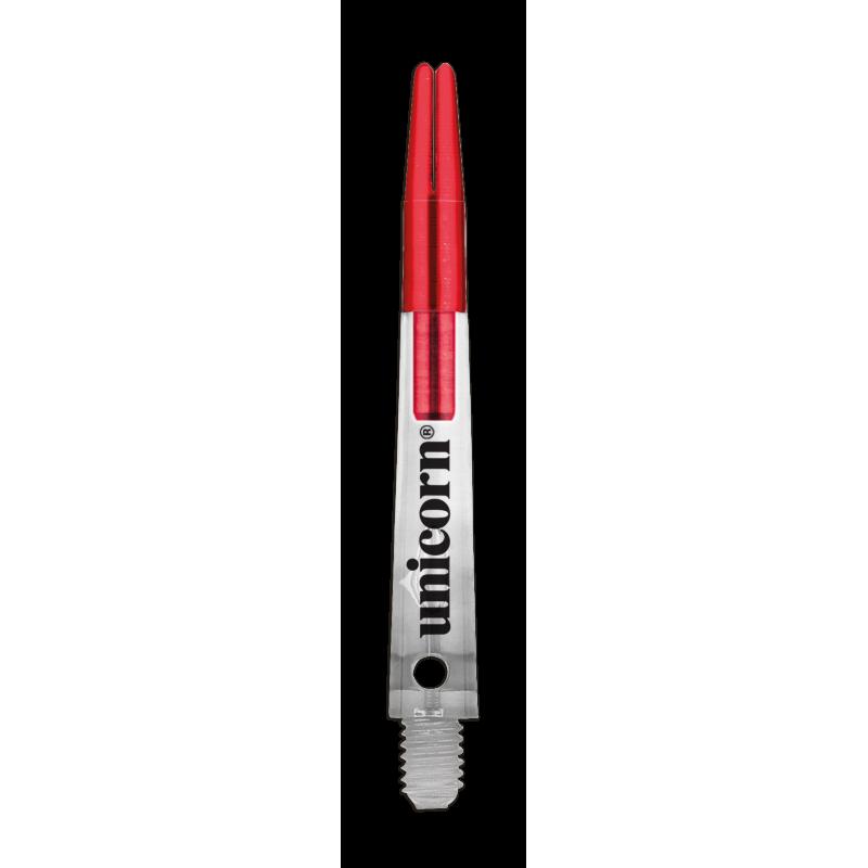 Shaft Short Red-Transparent Gripper Zero Degrees
