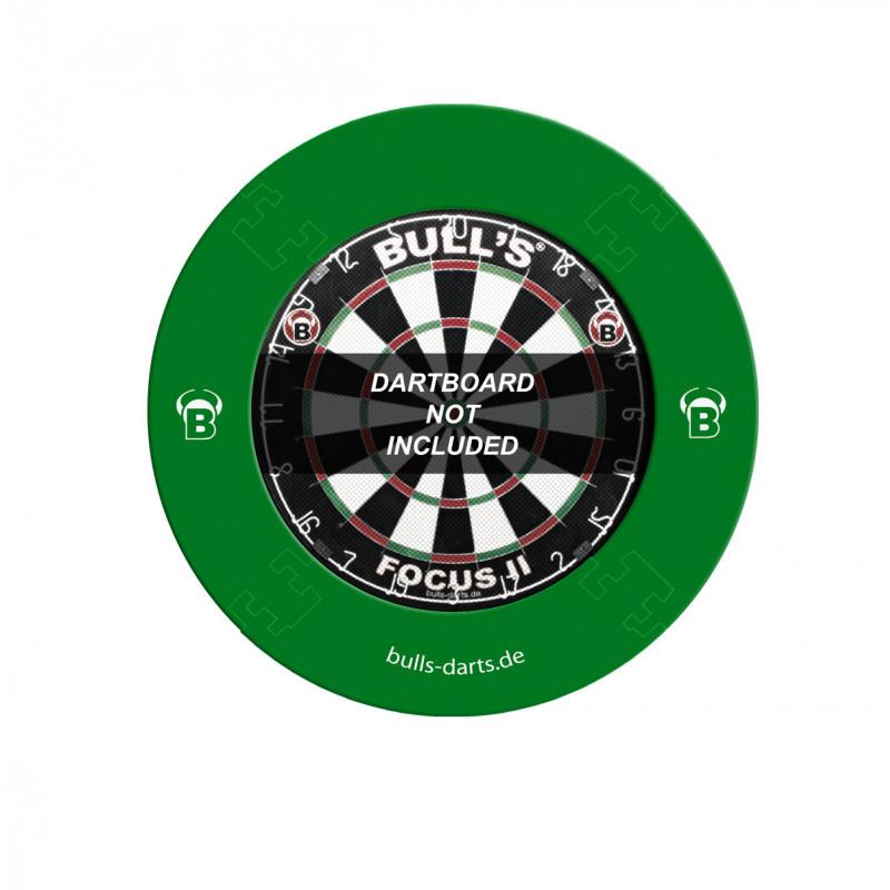 Anello di protezione per bersagli freccette componibile – Verde