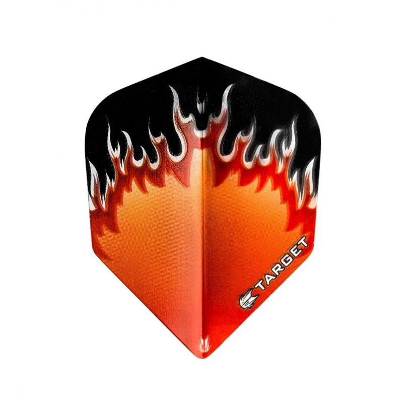Vision Orange Red Flame - 1x3 - 300760