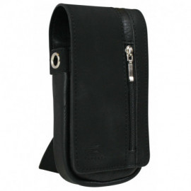 Daytona Wallet in pelle Nero