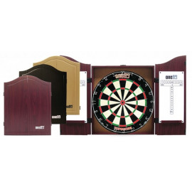 Black Wood Cabinet for board Darts