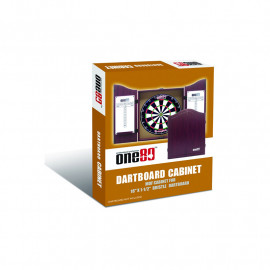 Palissandro Wood Cabinet for board Darts