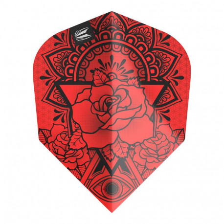 Flights roses INK PRO RED NO6 FLIGHT