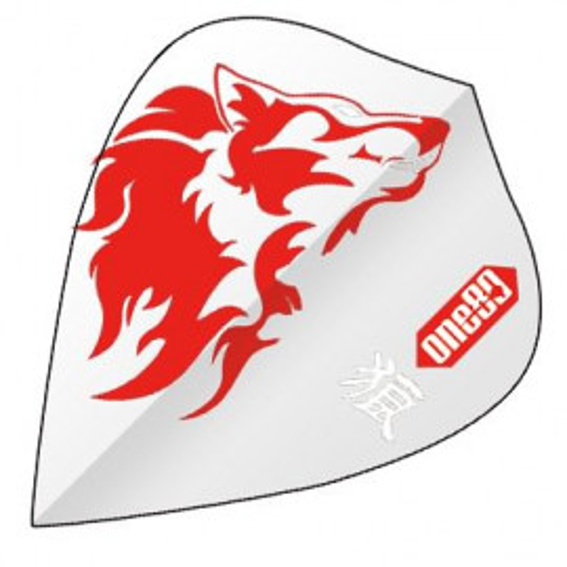 Kite Transparent flight Wolf Red Animal One80