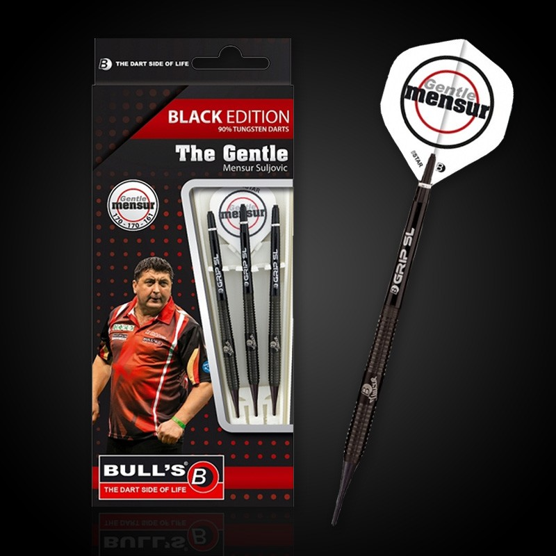 Freccette soft Black Edition - Mensur Suljovic